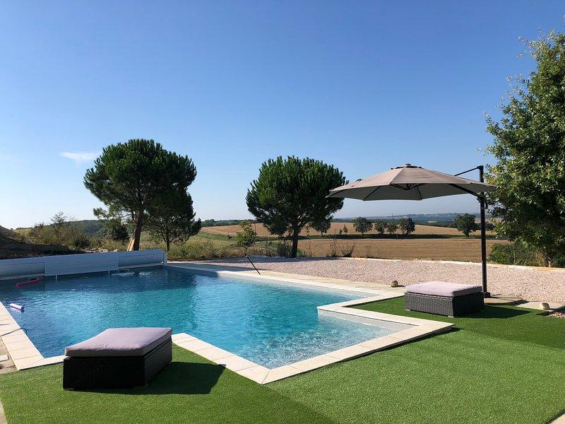 Gîtes de charme avec piscine, Moulin Nord, vacation rental in Saint-Lary