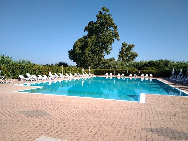 zwembad in de residentie beschikbaar voor onze gasten