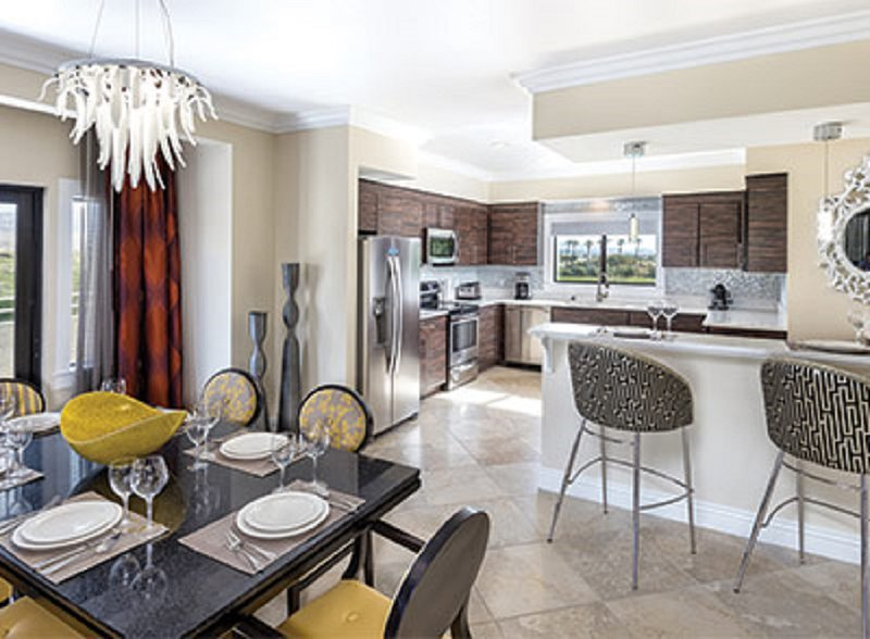 Spacious dinning and kitchen areas (furniture may vary per unit )