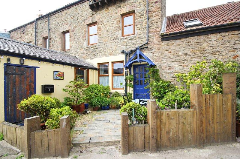 Sunnieside Cottage, patio area.