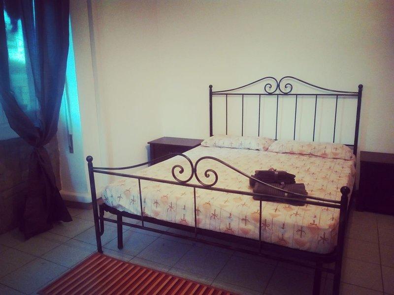 cama en hierro forjado