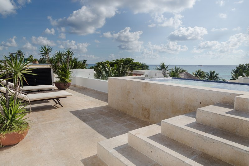Amazing view from Playacar Vacation Rentals