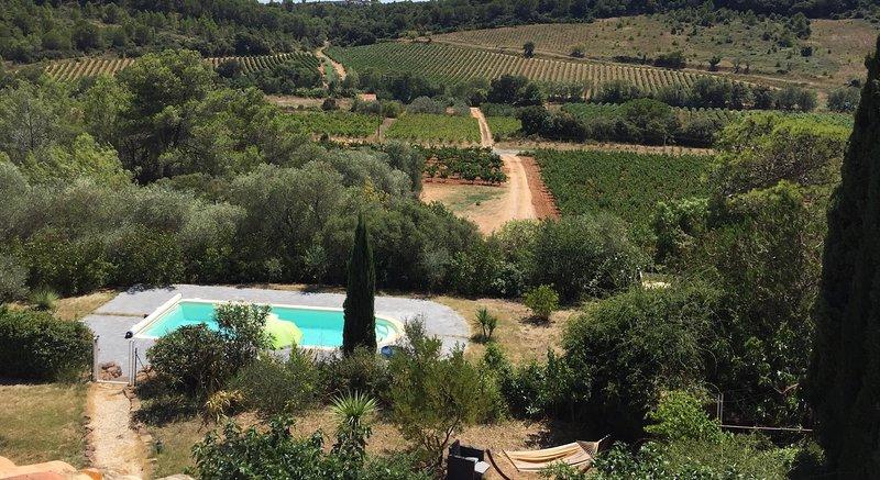 Vista desde el Domaine Languedoc