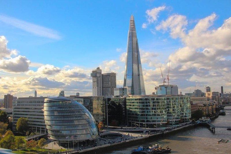 O escritório do London Shard & Mayors