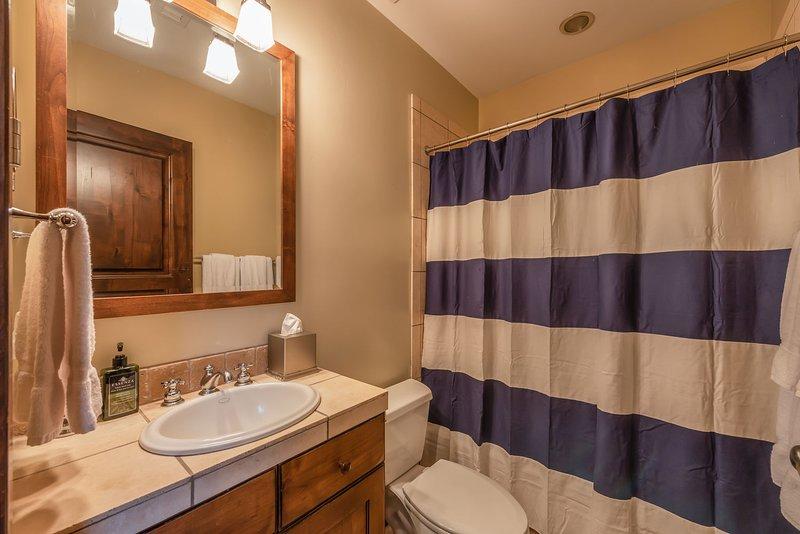 Bagno privato con vasca / doccia combo