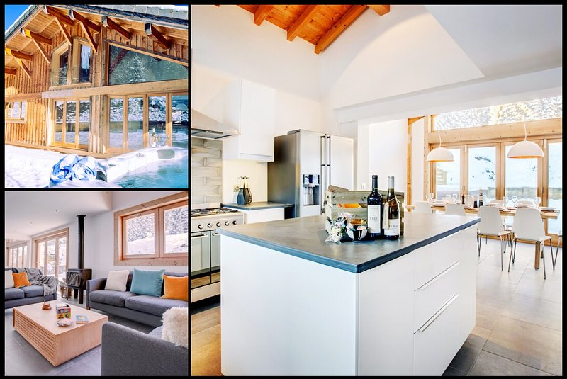 Chic, Spacious Luxury Chalet with hot tub