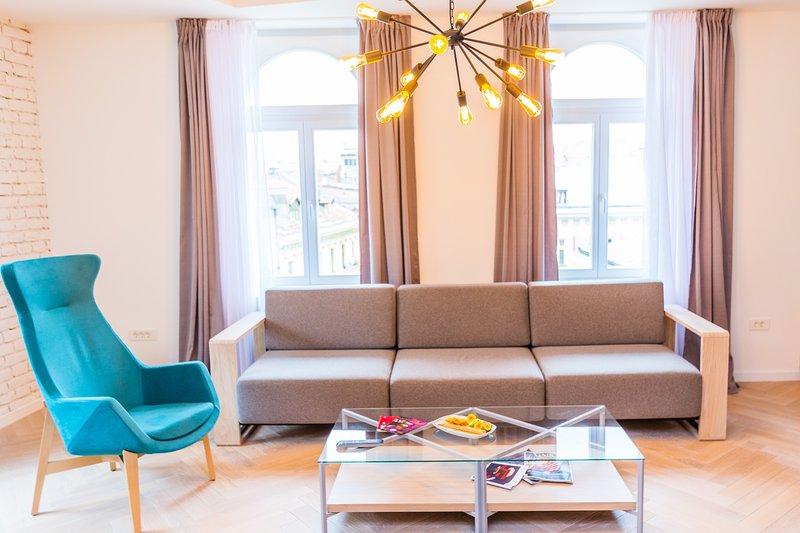 Sunny design Loft-Best location-AMAZING VIEW, holiday rental in Sarajevo