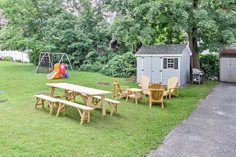 You're sure to love the expansive outdoor space!