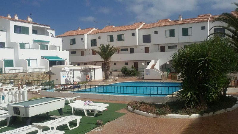 external view of the swimming pool