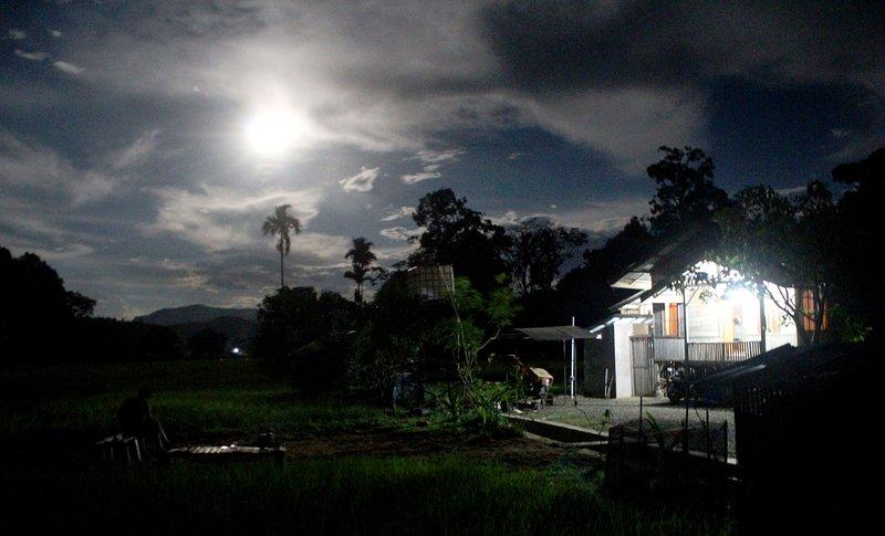 Nachtszenerie