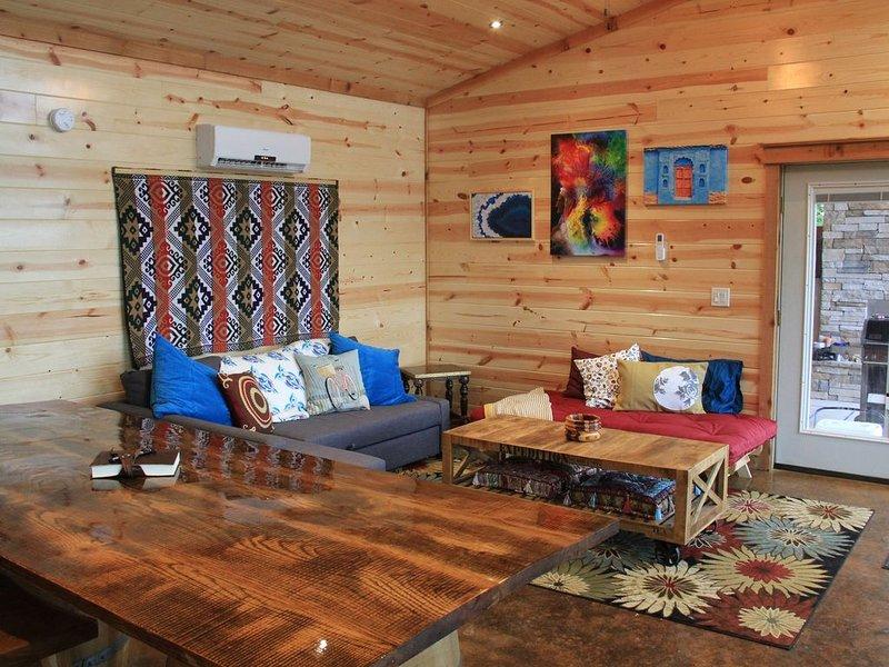 Boho Living area