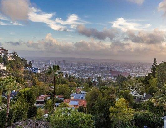 Une vue imprenable sur Los Angeles.