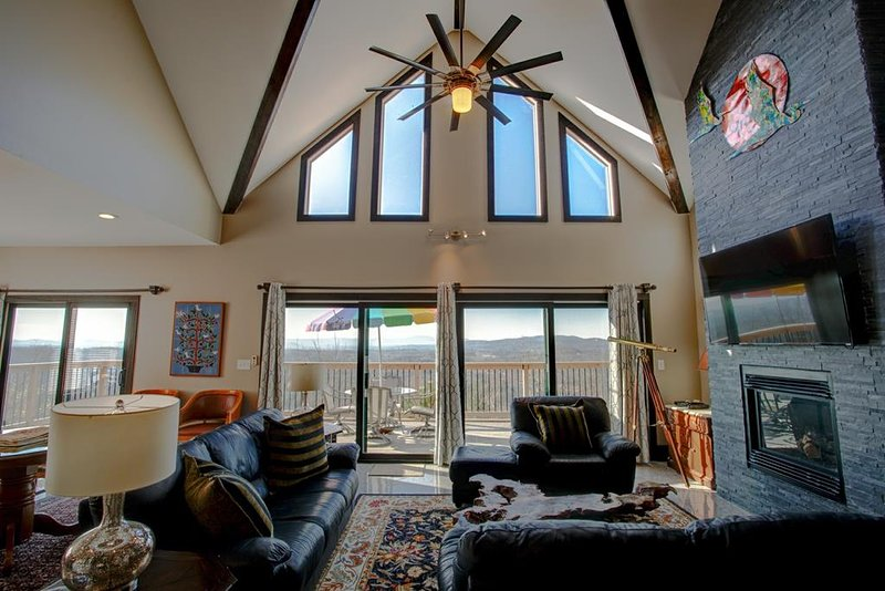 Great Room with amazing views
