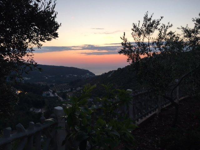 Pour profiter de la vue sur les magnifiques couchers de soleil sur la mer !!