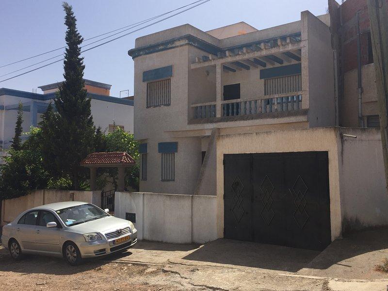 Naima apartment under villa.Near beach in small village.