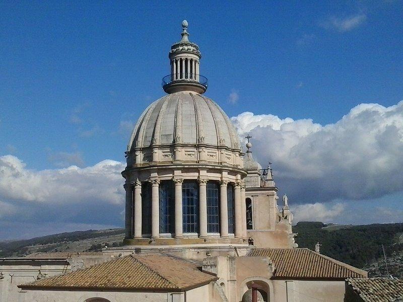 Cathedral dome San Giorgio Ragusa Ibla