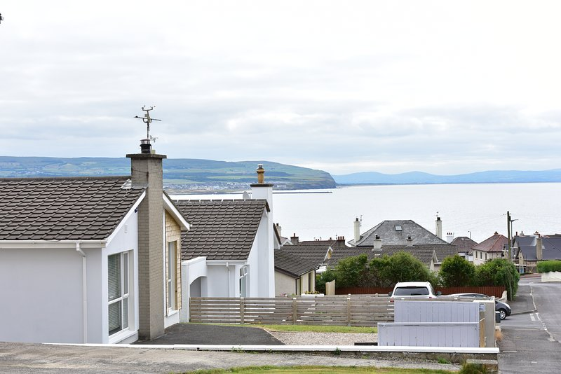 Fabulous coastal views from the property. Car parking at the front.