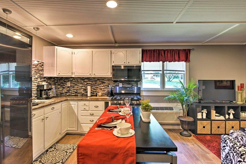 Buchen Sie Ihre Blue Ridge Mountain Flucht zu diesem 1-Bad Ferienhaus Studio!