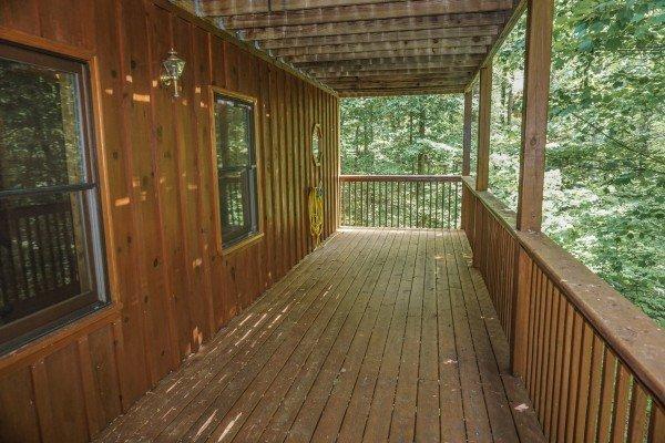 Deck à Angel's Place