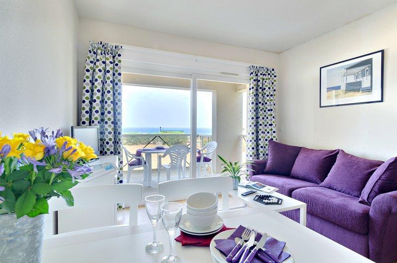 Välkommen till vår härliga 2-rumslägenhet i Saint-Briac-Sur-Mer!