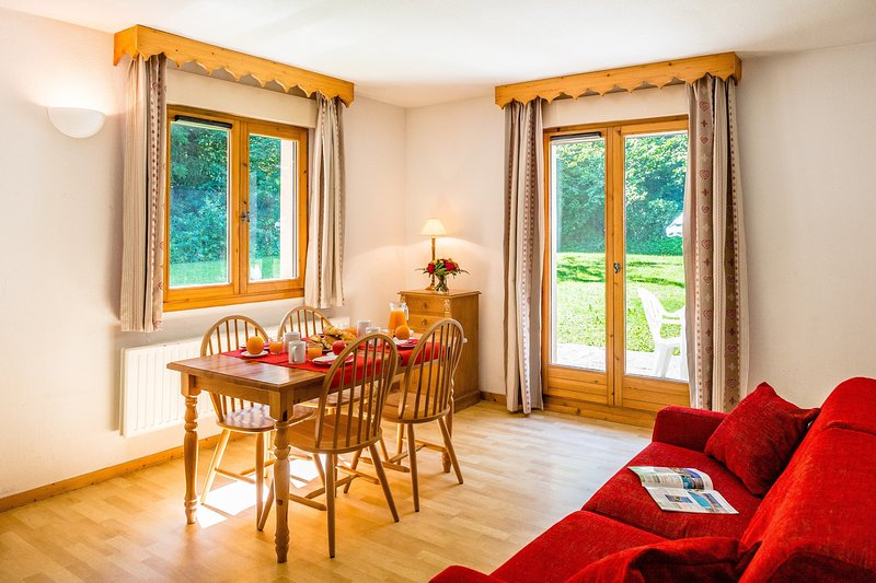 Bienvenue dans notre charmant appartement 1 chambre à Samoëns!
