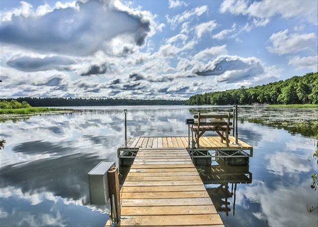 Content Retreat , Your paradise on Lake Content, holiday rental in Arbor Vitae