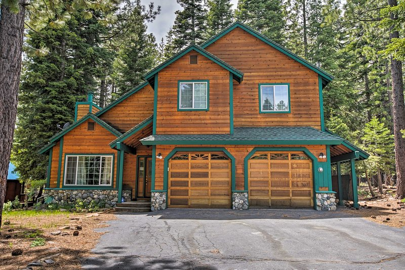 Book your Tahoe escape to this 3-bedroom, 2.5-bath vacation rental home!
