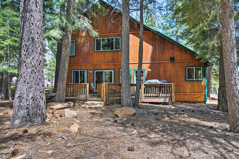 This house is the perfect Truckee getaway!