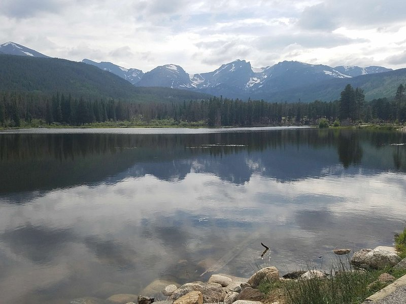 One of the many beautiful views from Rocky Mountain national Park.