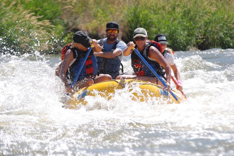 Provo River adventures are just a 5 minute drive. Rafting, kayaking, tubing, etc.