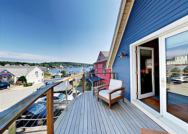 The Coal Shack: Pet-Friendly Harborfront Studio in Downtown Boothbay, aluguéis de temporada em Boothbay Harbor