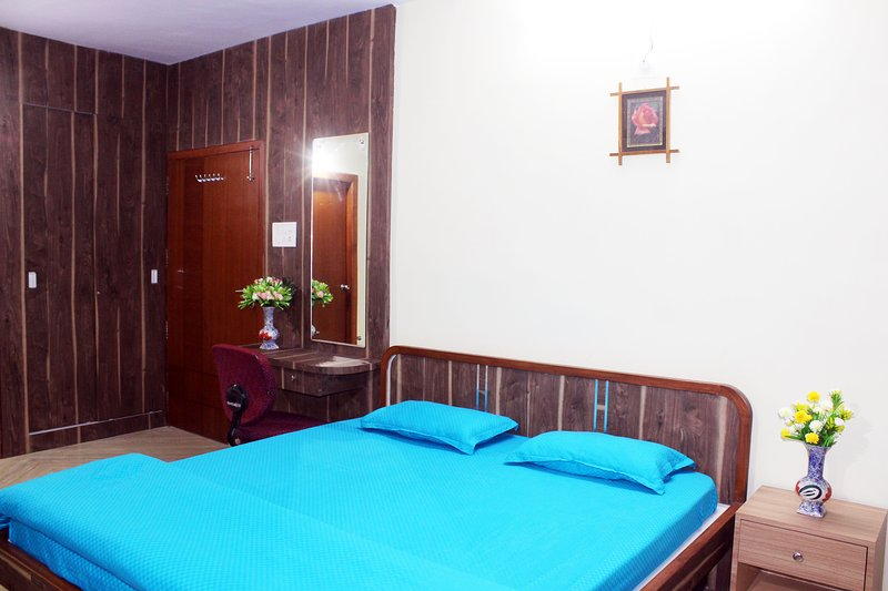 Deluxe AC King Room with Attached Toilet & Balcony