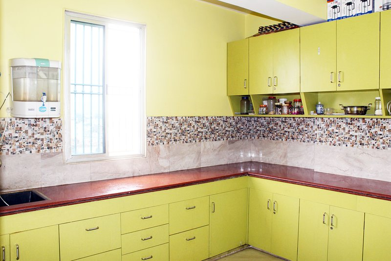 Shared Kitchen. Gas, if required, is made available at chargeable basis.