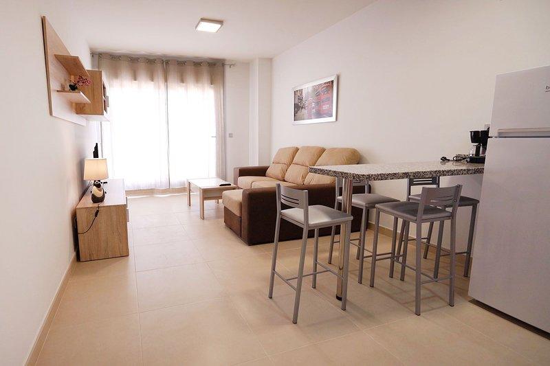 AS Apartamentos 1ºD (Sin vistas al mar), vacation rental in El Morche