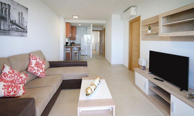 As Apartamentos 1ºB (Terraza + Vistas al mar), vacation rental in El Morche