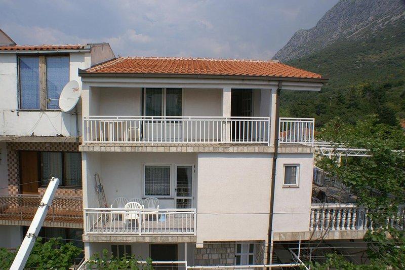 One bedroom apartment Podaca, Makarska (A-2618-b), location de vacances à Podaca