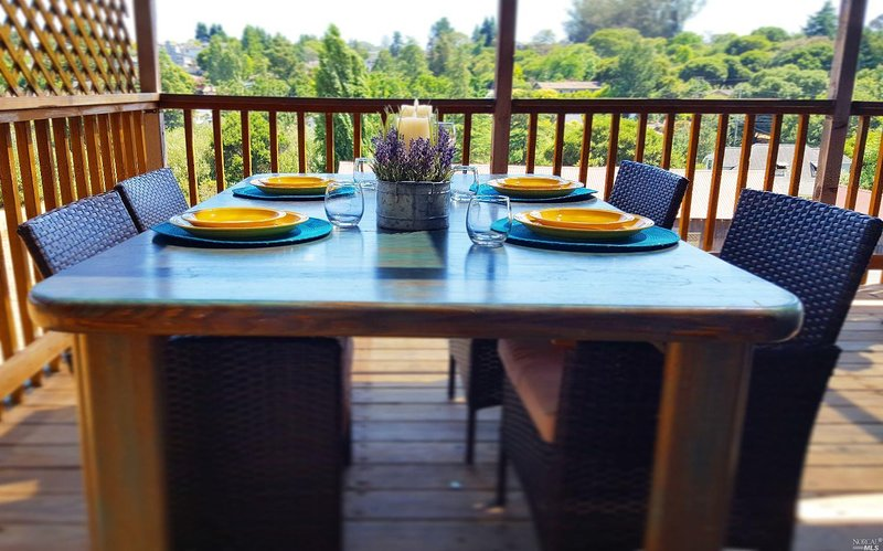 Outdoor Dining with great view