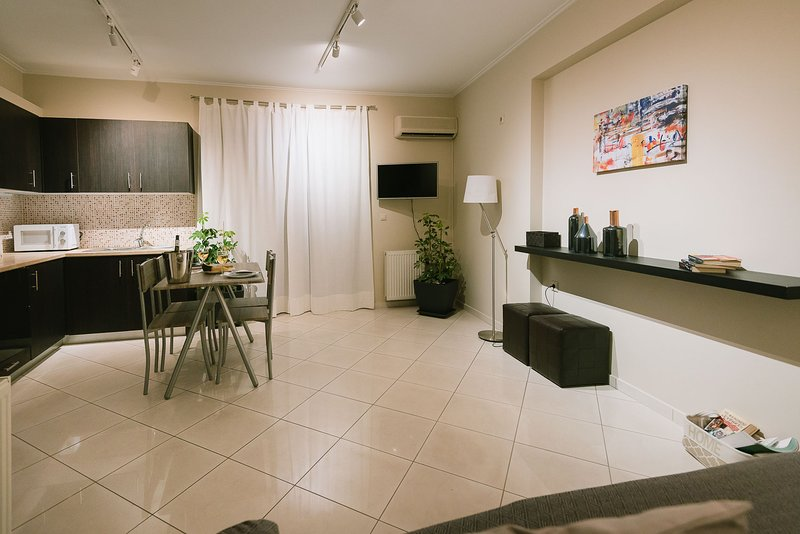 Metro Apartment in Athens 45 sq.m., holiday rental in Tavros