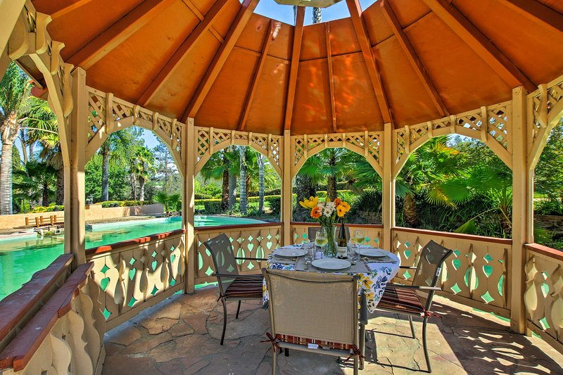 Experience the beauty of Temecula from this 5-acre vacation rental villa.