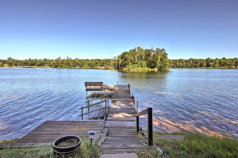 You'll have direct lake access right in your backyard.