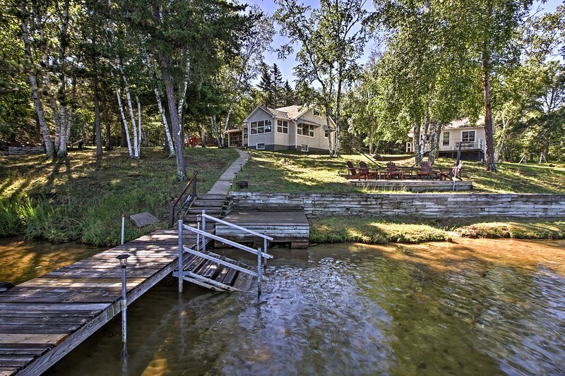 A peaceful lakefront escape awaits you in Crosslake.
