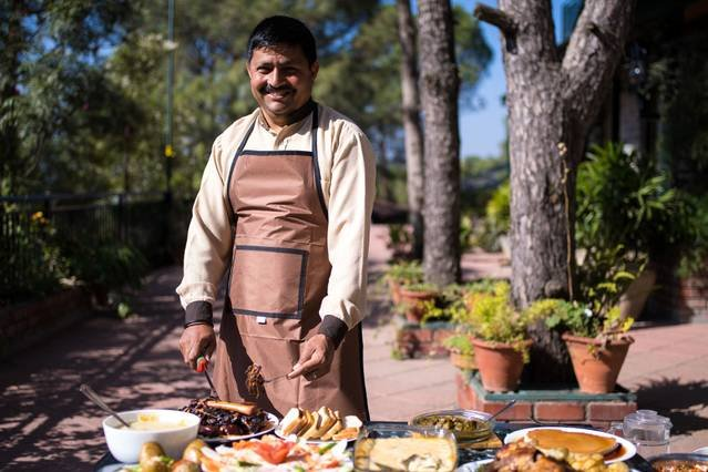 Your personal dedicated cook to delight your taste buds with his unique flavour of India