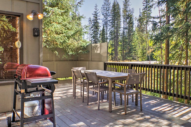 A memorable alpine getaway awaits you at this Winter Park vacation rental home.