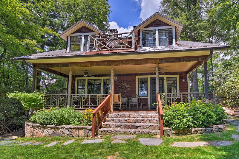 A rejuvenating getaway awaits you at this vacation rental house in Banner Elk!