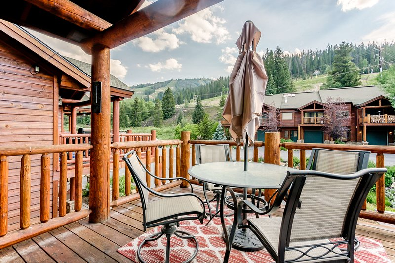 Gaze out to nearby Winter Park Resort
