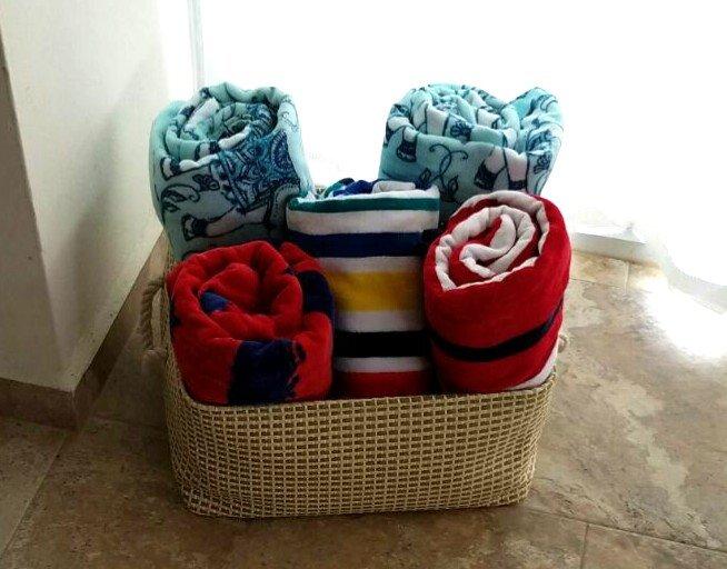 Beach towels!