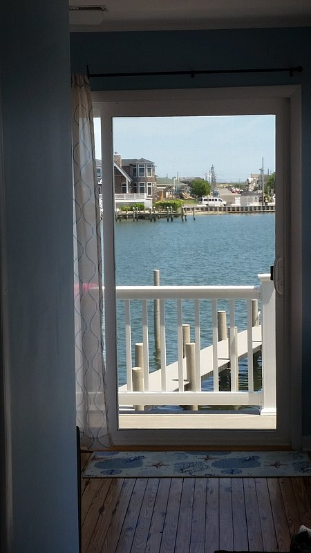view from the bayside room and the master bedroom