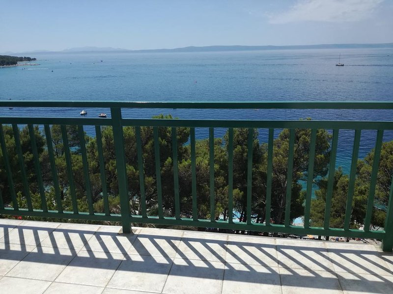 Vista del balcone