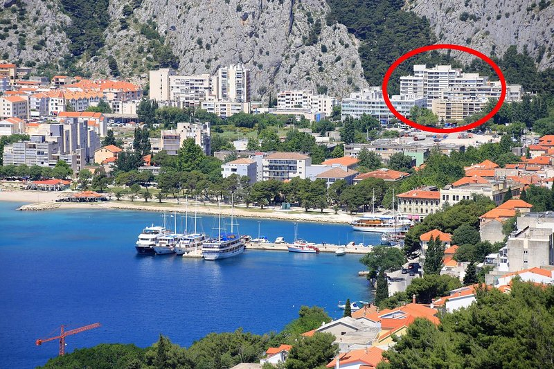 Two bedroom apartment Omiš (A-14894-a), holiday rental in Naklice