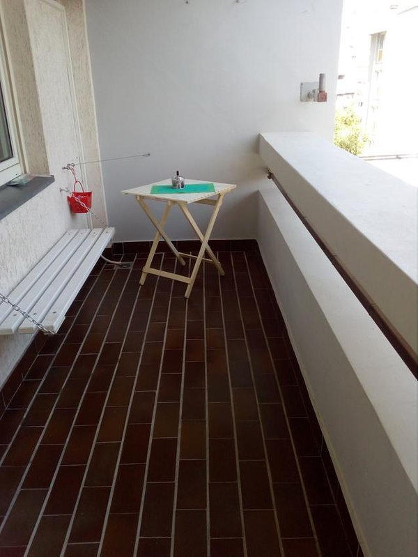 Balcony, Surface: 6 m²